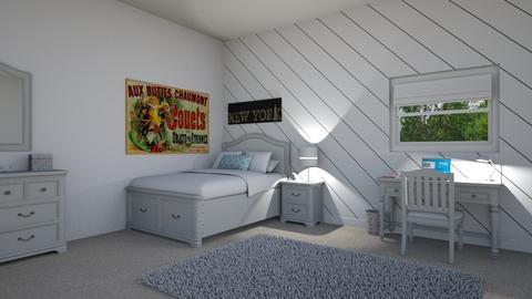 Bedroom - Bedroom - by josielz