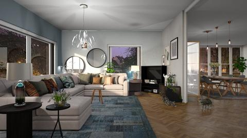 Home_Alone - Living room - by ZuzanaDesign