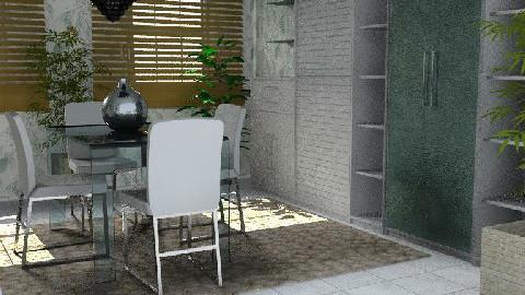 A Room 8 - Dining Room - by maumau