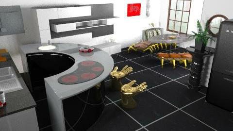 SONY HOME KITCHEN ii - Kitchen - by SAW95