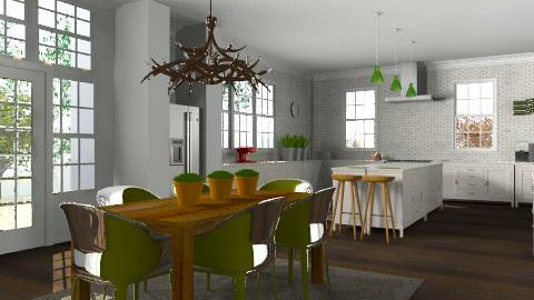 Kitchen in the Suburbs - Classic - Kitchen - by Carliam