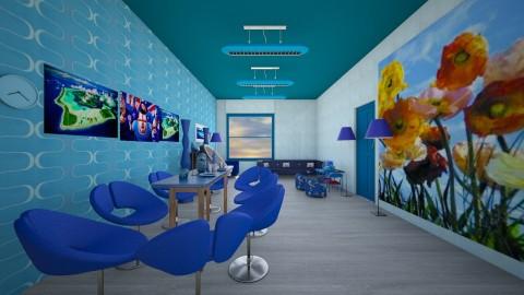 feeling kinda blue - Modern - Living room - by DAVID00900000