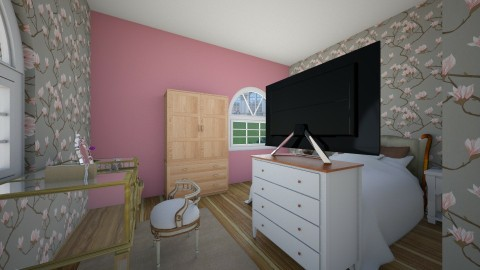 pink pink pleasure - Bedroom - by bov