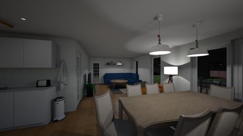 Komplet hus 3 Nat - Living room - by iltp