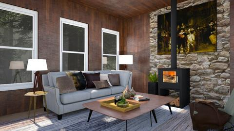 Cabin - Living room - by Yate