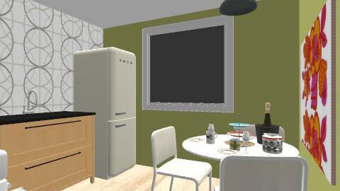 Kjokkenet - Retro - Kitchen - by hi_elli
