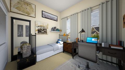 Writers Oasis Plan 6 - Bedroom - by SammyJPili