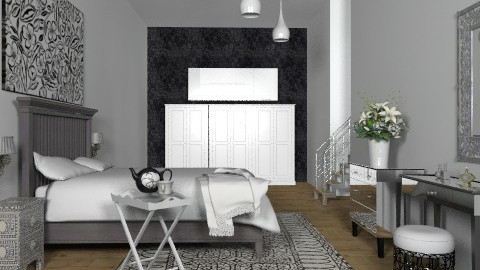 Mono Basement Bed - Classic - Bedroom - by hunny