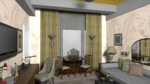 rug test - Retro - Office - by louchette