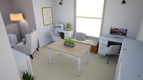 Attic Office Reno - Office - by stephz