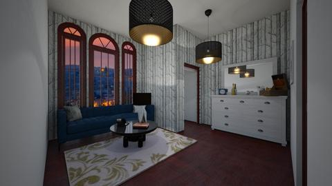 penthouse living room - Classic - Living room - by Tiny Dancer