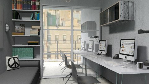peace - Modern - Office - by The_Hunter_and_Gatherer