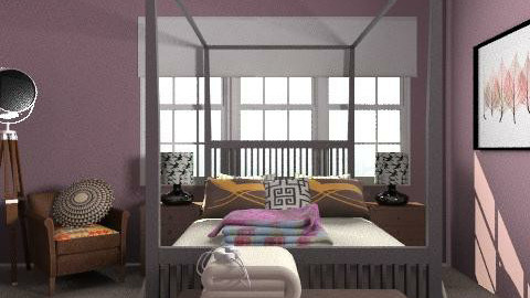 Poster - Eclectic - Bedroom - by hunny