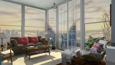 Small Eclectic NYC Living - Eclectic - Living room - by paluvica