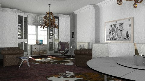 lifes a cow! - Retro - Living room - by ethnic glitter