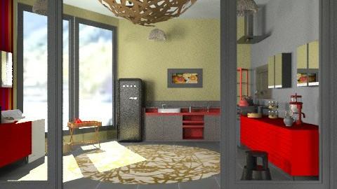 minimal apartment - Minimal - Kitchen - by mrschicken