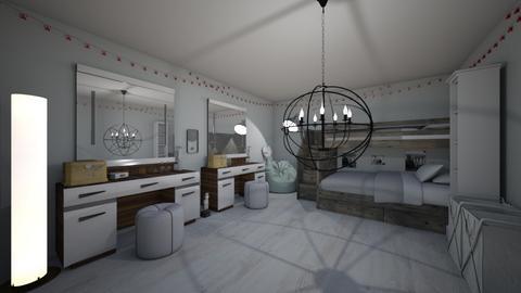 twins bedroom - Bedroom - by 2023