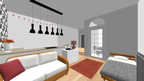 Small Studio Flat  - by sarahbatty