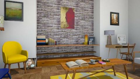 Boho - Vintage - Living room - by camilla_saurus