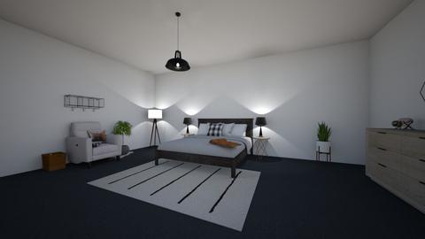master bedroom - Modern - Bedroom - by 27aleger