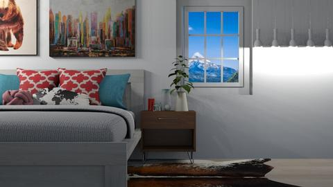 teen room 2 - Eclectic - Bedroom - by SelahH11