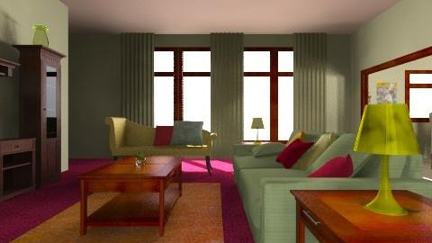 chic livingroom - Retro - Living room - by allday08
