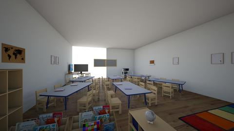 classroom - Kids room - by alberto88