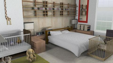 bedroom - Minimal - Bedroom - by whateffer