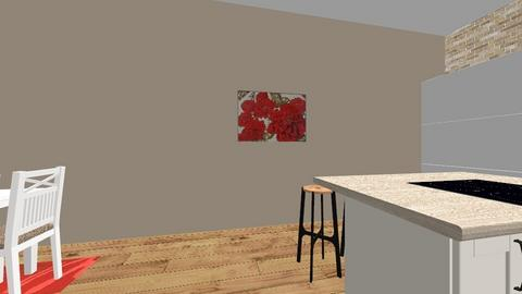 House Plan - Kitchen - by syba2880
