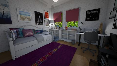 childhood 2 - Retro - Bedroom - by brilliantsong