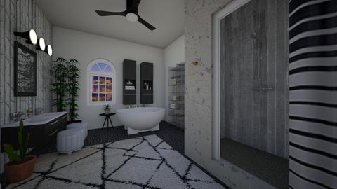 spa at midnight - Bathroom - by dena15
