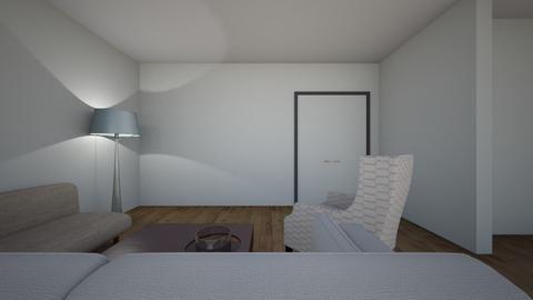 pokoj duzy new - Living room - by AGATA murmi