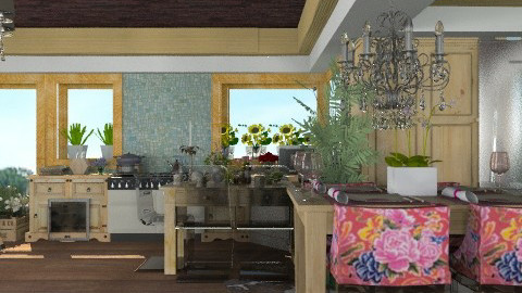 Just another Kitchen. - Country - Kitchen - by Your well wisher