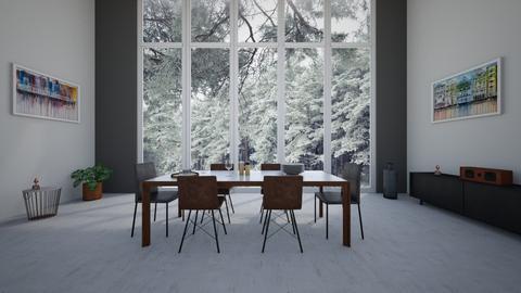Bright Dining Room  - by Bastin