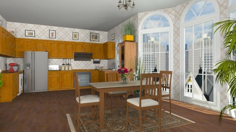 kitchen - Classic - Kitchen - by GALE88