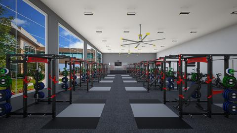 Jim's Training Gym - by rogue_d2c38681241d1a988654a7e09ba1e