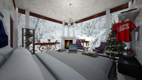 SnowBeds - Bedroom - by slyteryn oliver