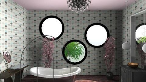 lady bath - Glamour - Bathroom - by hellomoncsi