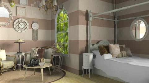 Modernly Antique - Classic - Bedroom - by rampage