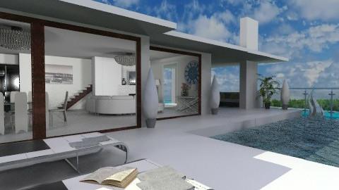 Deluxe Modern beach house - Modern - Garden - by KittiFarkas