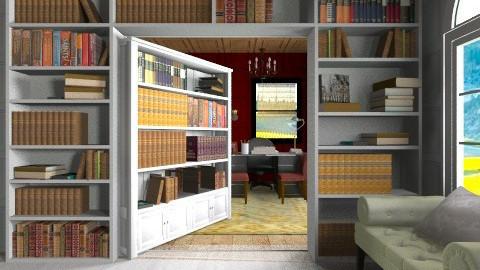 Hidden Study - Office - by heyfeyt