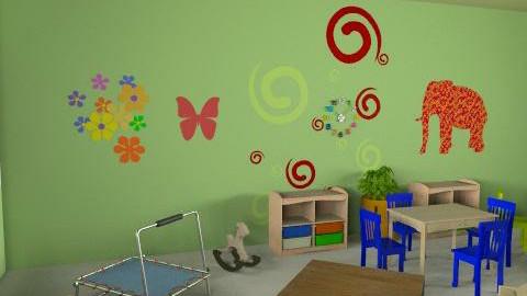 paud rusa - r1v3 - Country - Kids room - by aryantono