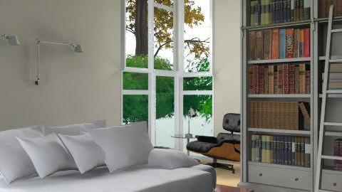 Men - Minimal - Bedroom - by mine8ag