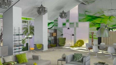 Lime Juice - Minimal - Living room - by Pat V