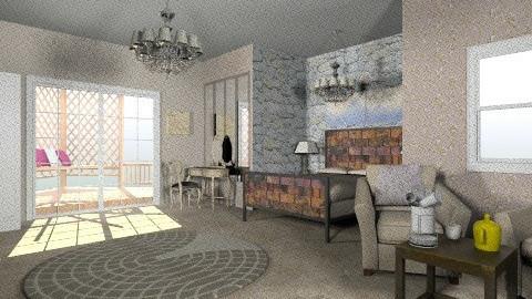 stone and steel - Minimal - Bedroom - by mimiB