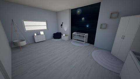 space  - Kids room - by chaimaeh