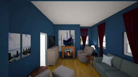 NAVY POSSIILITY W DINING  - Living room - by FLIPCRESTED