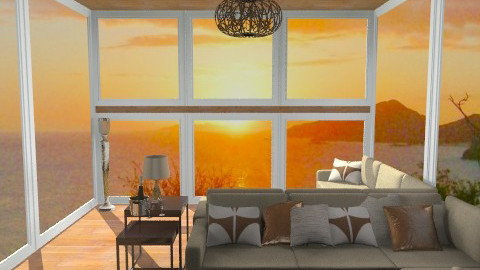 Sofa-Sunset - Classic - Living room - by Lenii