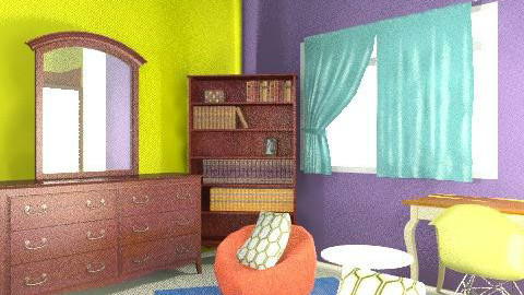 Cassie's Room - Vintage - Bedroom - by twindeco