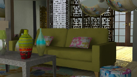 BOHEMME - Eclectic - Living room - by color_lover